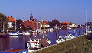 Glückstadt Place in Schleswig-Holstein, Germany