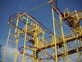 Wild Adventures - Go Bananas Roller Coaster (Formerly the Bug Out Coaster)