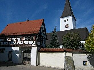 Göttingen (Langenau) - Historic heart of the village