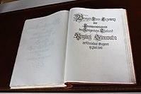 Goldenes Buch des Freistaats Bayern Yingluck Shinawatra.JPG