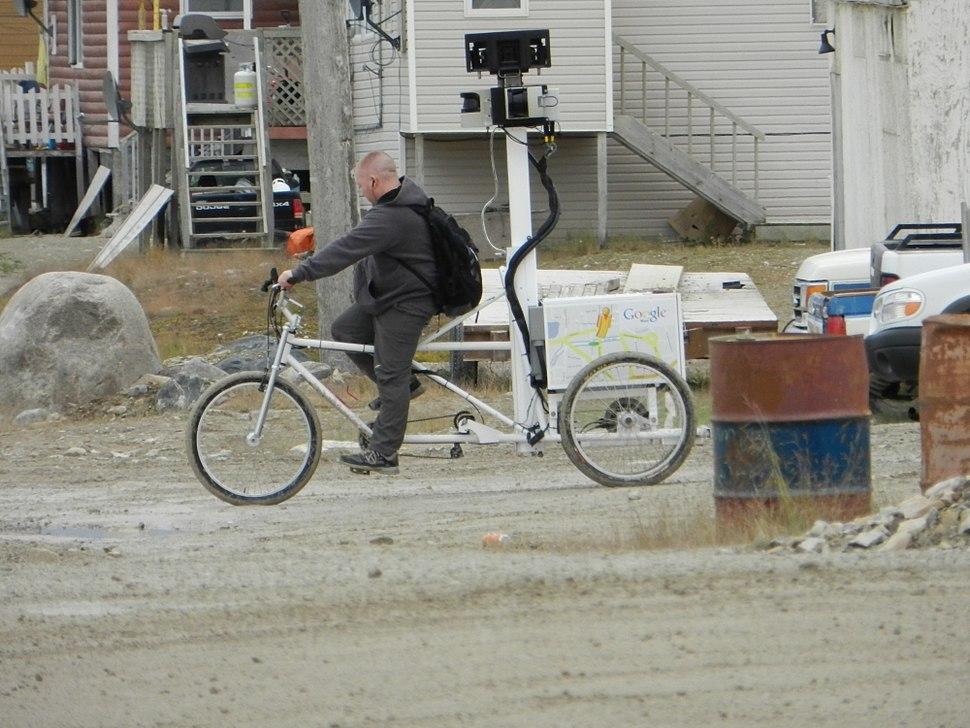 Google Street View trike side