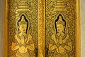 Gorgeous gold-painted doors at Wat Traimit (6491904561).jpg