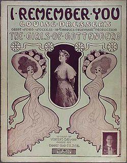 <i>The Girls of Gottenberg</i> Edwardian musical comedy