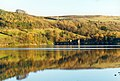 Gouthwaite Reservoir reflections. - geograph.org.uk - 324212.jpg
