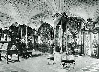 Grünes Gewölbe - Pretiosensaal in 1904