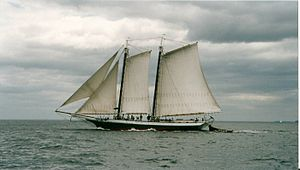 National Register of Historic Places listings in Maine - Grace Bailey (schooner), in Knox County