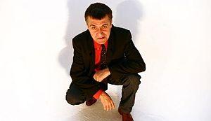 Spanish comedian and TV presenter El Gran Wyoming.