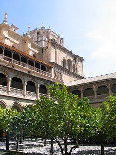 Monasterio de San Jerónimo, Granada Monastery in Granada, Spain