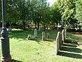 Grave yard St. Mary's Church, Baldock - geograph.org.uk - 2532879.jpg