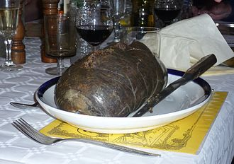 Burns supper - A haggis