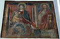 Grosseto, san francesco, interno, madonna col bambino dell'ambito di niccolò di segna e altri affreschi.JPG