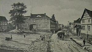 Weinbergen - Grossgrabe/Thüringen (1909)