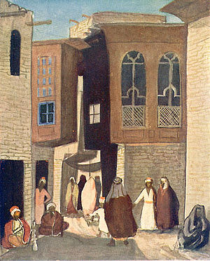 Jāzeps Grosvalds - Image: Grosvalds A Street in Baghdad