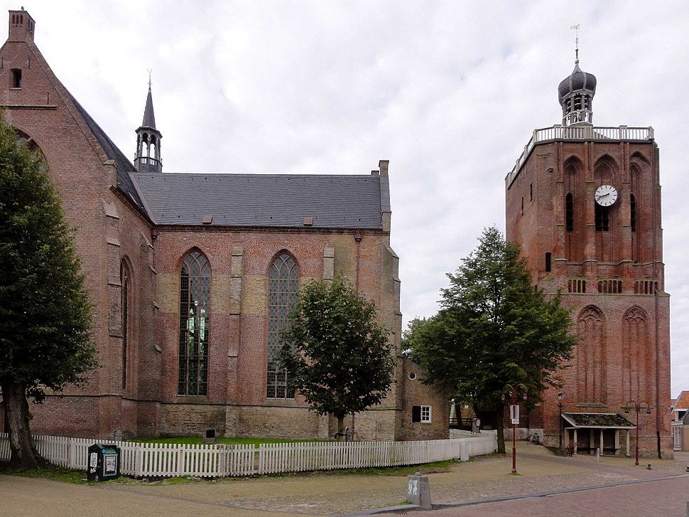 Grote of Sint-Gertrudiskerk Workum