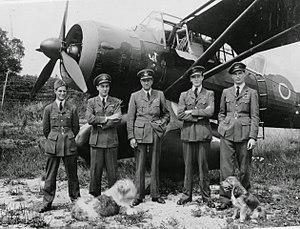 No. 161 Squadron RAF - No. 161 Squadron Lysander at Tangmere 1943