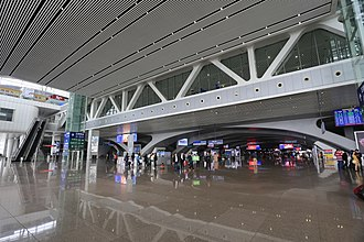 Guangzhou South Railway Station - 1F Arrivals Level