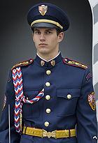 Guard at the Prague castle, Prague - 7627