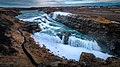 Gullfoss waterfall - Iceland - Travel photography (33749740080).jpg