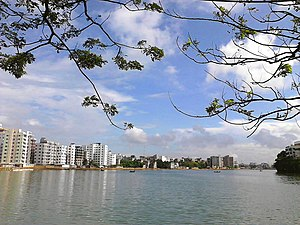 Gulshan Lake - Gulshan Lake scenery