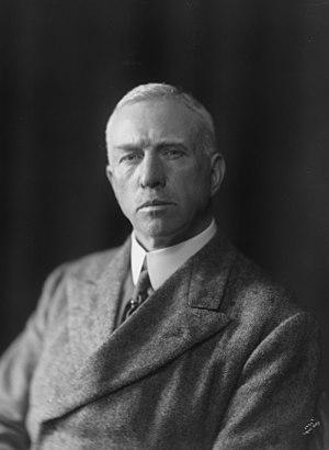 Gunnar Isachsen - Isachsen in 1921