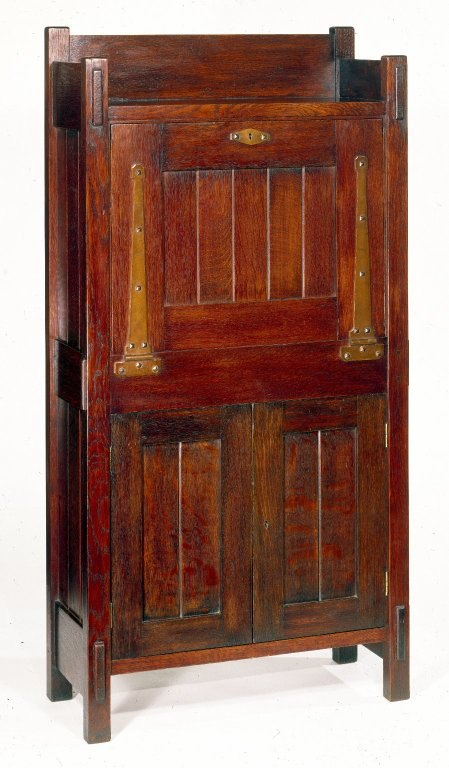 Gustav Stickley. Dropfront Desk, ca. 1903.