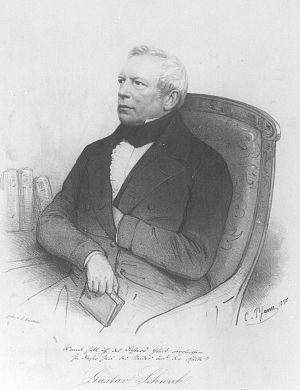 Gustav Schwab - Image: Gustav schwab 1850