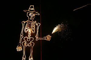 Guy Fawkes effigy