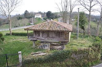 Hórreo - Asturian hórreo