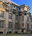 Hôtel de Lamoignon courtyard facade, southern half.jpg