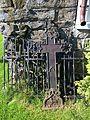 Høylandet Church Trøndelag Norway 2016-09-05 iron gates cross.jpg