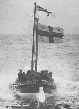 Norfolk and Suffolk-class lifeboat - HF Bailey ON670