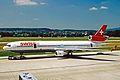 HB-IWA MD-11 Swiss Intl Al ZRH 19JUN03 (8591268769).jpg