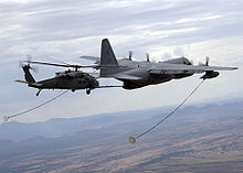C130 and HH60 aircraft