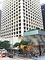 HK Central Pedder Street Des Voeux Road view Landmark Gloucester Building facade Nov-2012.JPG
