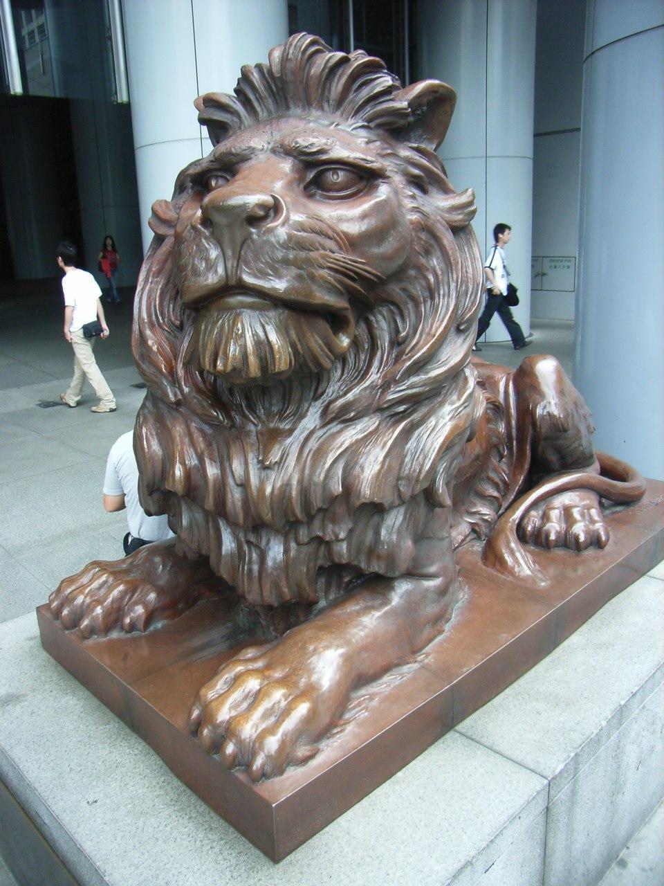 HK HSBC Lion 1