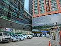 HK Tin Hau 117-120 King's Road outdoor carpark Sing Pao Building Carson Mansion June-2014.JPG