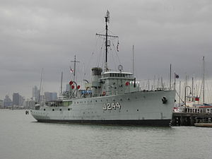 HMAS Castlemaine - HMAS Castlemaine