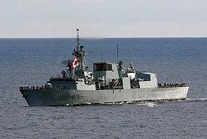 HMCS Charlottetown FFH 339