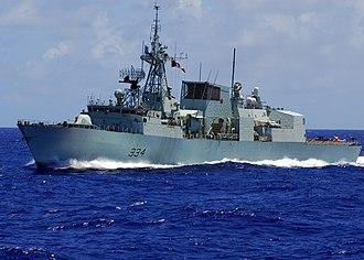 HMCS Regina (FFH 334) - Image: HMCS Regina (FFH 334) Frigate