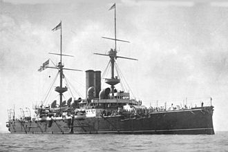 HMS Barfleur (1892) - Barfleur before 1898