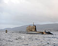 HMS Astute Arrives at Faslane for the First Time MOD 45150823.jpg