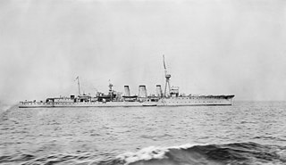 C-class light cruiser of the Royal Navy