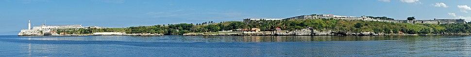 Habana 01 2014 Castillo de los Tres Reyes del Morro & Fortaleza de San Carlos de la Cabaña 7508