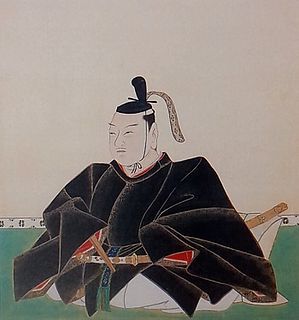 Hachisuka Tadateru Daimyo who ruled the Tokushima Domain