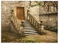 Haddon Hall, Dorothy Vernon's Steps, Derbyshire, England-LCCN2002696688.tif