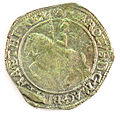 Halfcrown of Charles I - Counterfeit (YORYM-1995.109.53) obverse.jpg