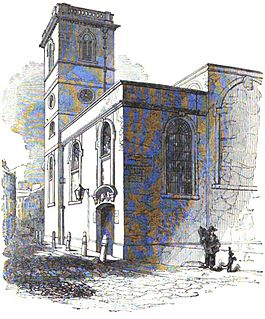 All-Hallows-the-Great Church in London
