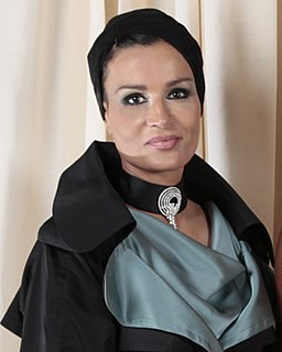wife of Sheikh Hamad bin Khalifa Al Thani