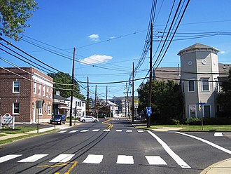Hamilton Square, New Jersey - Center of Hamilton Square