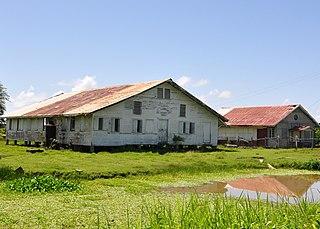 Hampton Court, Guyana village in Pomeroon-Supenaam, Guyana